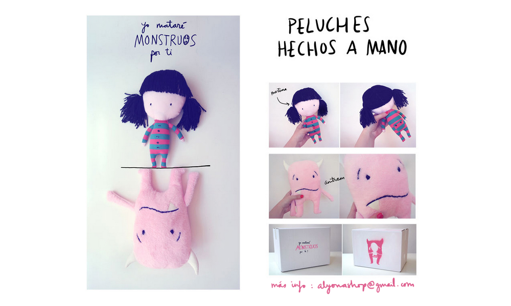 Peluches hechos a mano