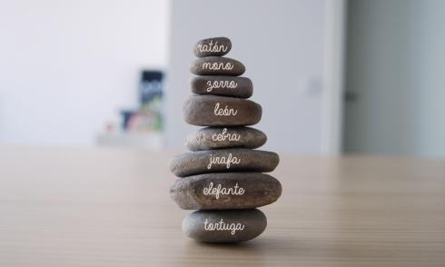 piedras una sobre otra