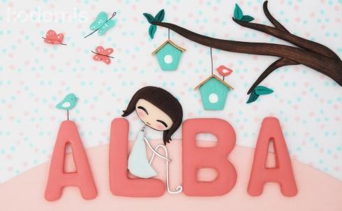 Cuadro personalizado para Alba