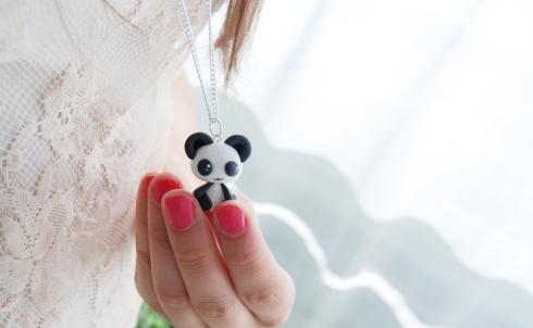 Colgante panda kawaii