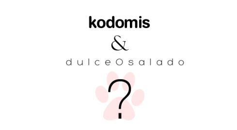 Colaboración DulceOsalado y Kodomis